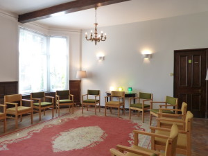 group rooms available on ground floor